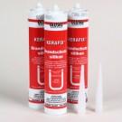 Kerafix Kit is een moeilijk ontvlambare, een-component dichtstof voor binnen- en buitentoepassingen.